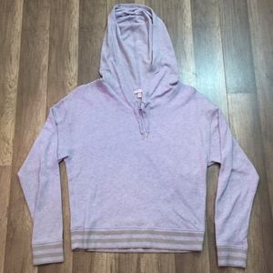 Victoria's Secret Angel Hoodie w Striped Accents